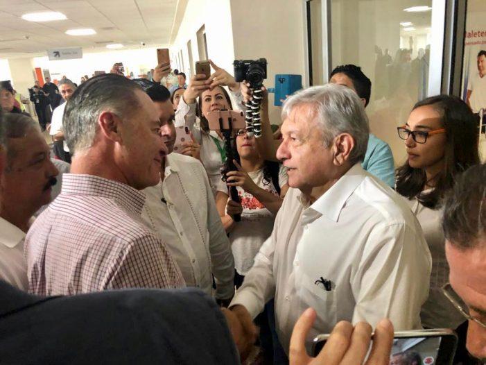 Se reúne Quirino con el presidente Andrés Manuel López Obrador