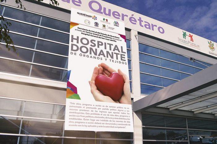 Hospital General de Querétaro realiza primer trasplante de hígado del año