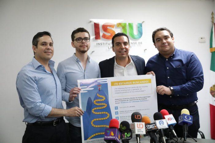 Presenta el Instituto de la Juventud Sinaloa, la Academia de Liderazgo Kybernus