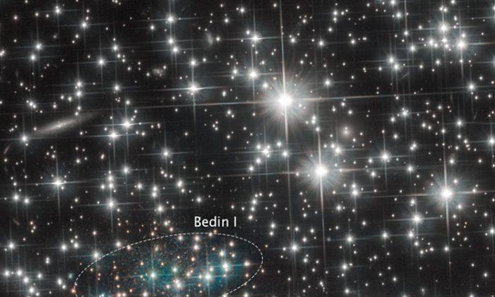LA NASA descubre una nueva galaxia
