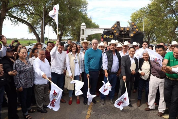Inicia la reconstrucción de la carretera Los Mochis-Villa de Ahome