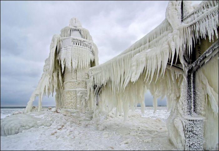 Las razones por las que en EUA hace más frío que en la Antártida