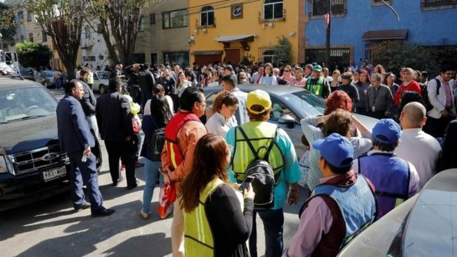 Sismo magnitud 6,5 sacude México