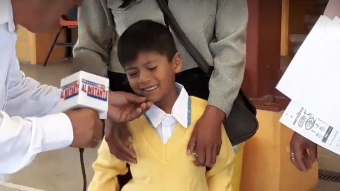 Buscan recursos para apoyar operación de ojo a menor en Guerrero