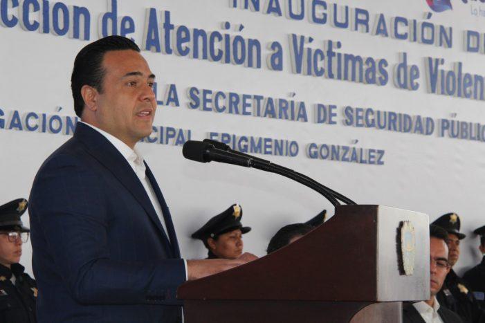 Luis Nava inaugura Dirección de Atención a Víctimas de violencia Familiar y de Género de la SSPM
