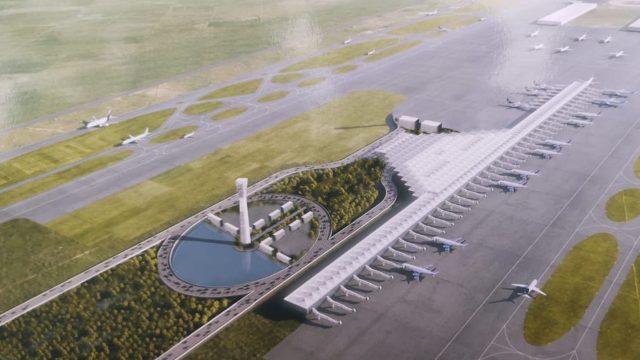 AMLO asegura que aeropuerto de Santa Lucía iniciará en 2022