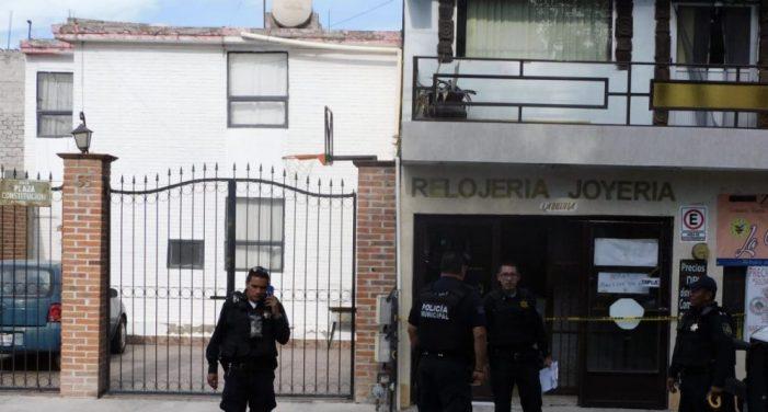 Detienen a sujeto que participó en asalto a joyería en Querétaro