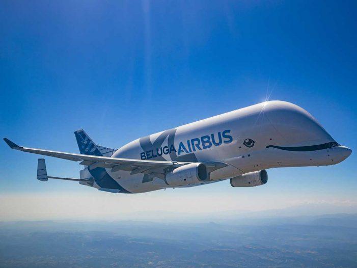 ¿Una ballena volando? sí, es el nuevo avión de Airbus