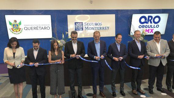Gobernador reinaugura centro operaciones de Seguros Monterrey