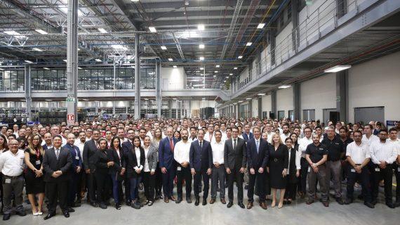 Pancho Domínguez inaugura  ampliación de operaciones de Planta Brose Aeropuerto