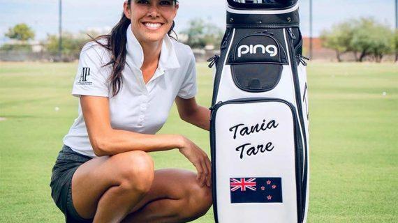 Los trucos de golf más increíbles de Tania Tare
