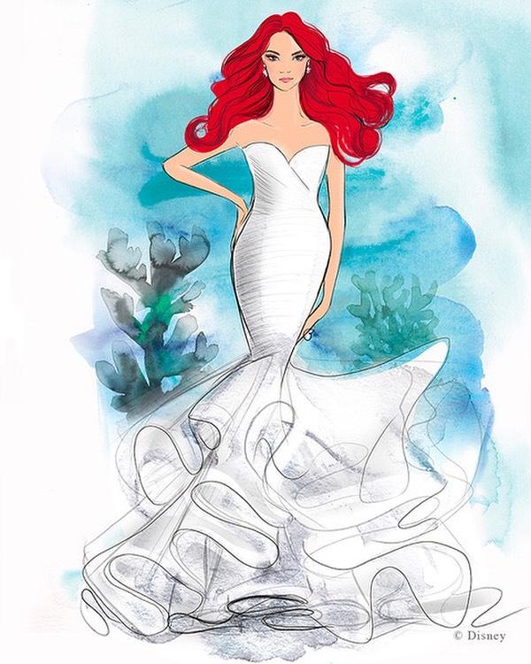Disney ahora venderá vestidos de novia estilo princesa