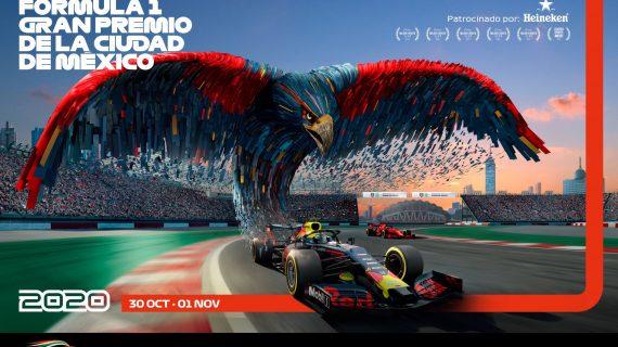 Los nuevos posters para el Gran Premio de México F1 2020