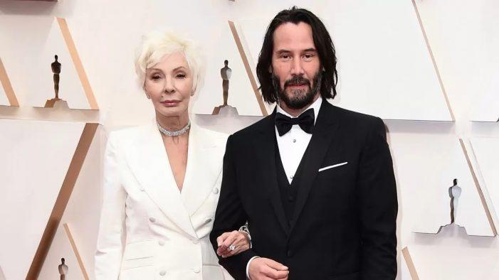 ¿Quién era la acompañante de Keanu Reeves en la entrega de los Óscares?