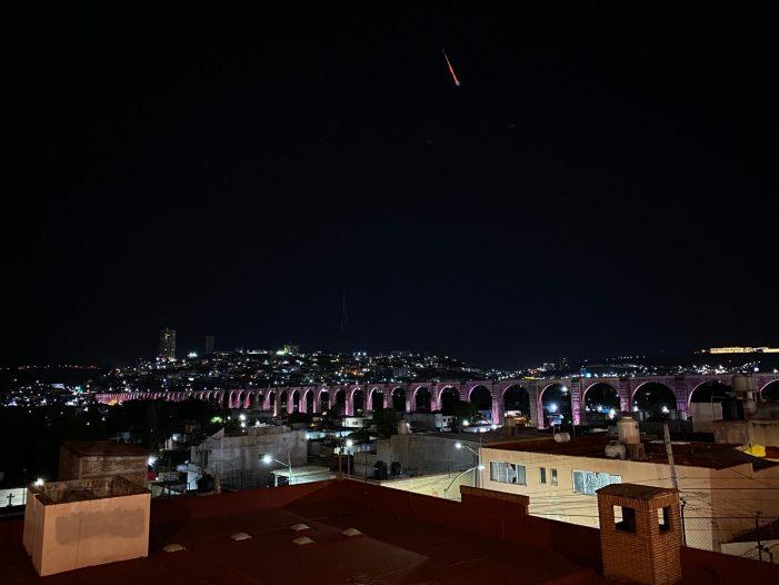 ¿Viste el meteorito de anoche?