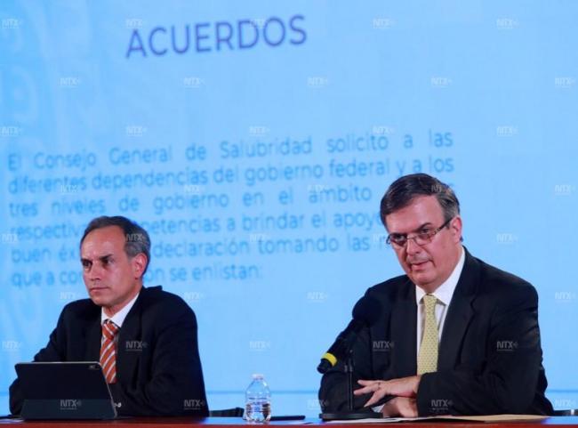 Gobierno de México declara emergencia sanitaria