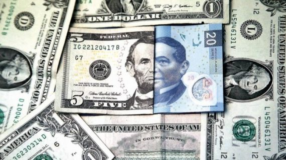 Dólar supera los 21 pesos este domingo