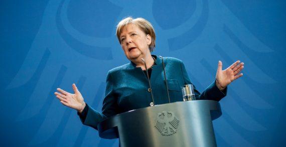 Merkel da negativo en primera prueba de Coronavirus