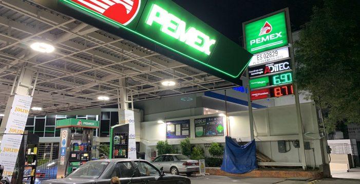 Gasolina en la CDMX se vende en $16.90