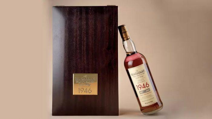 Se subasta botella de whisky en 616 mil pesos