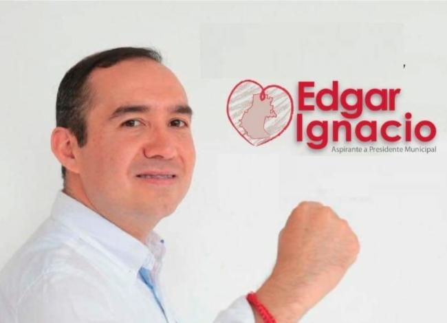 Edgar Ignacio se registra a la candidatura de Morena en Tixtla