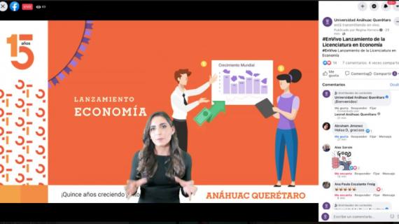 Universidad Anáhuac Querétaro lanza la licenciatura en Economía