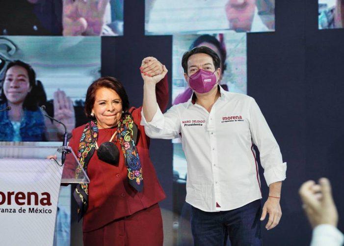 Celia Maya ofrece campaña de propuestas