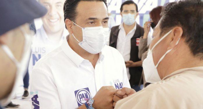 Luis Nava quiere iluminación total en los fraccionamientos de Querétaro