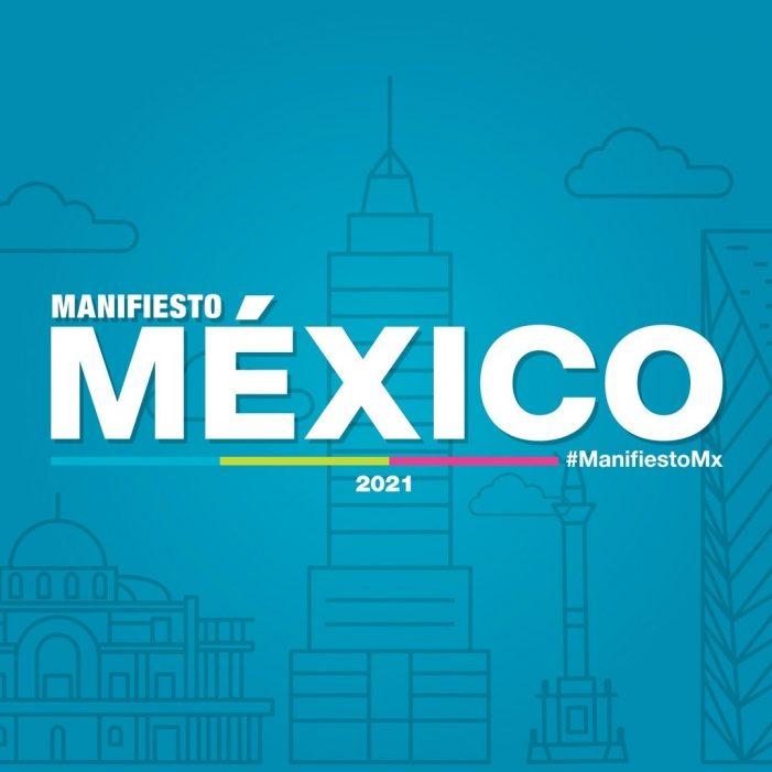 """Coparmex presenta """"Manifiesto México"""""""