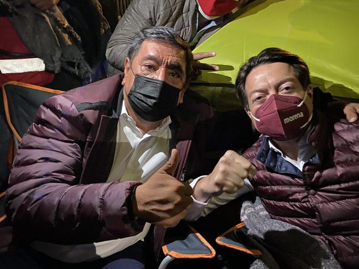 Félix Salgado Macedonio se aferra a candidatura al gobierno de Guerrero