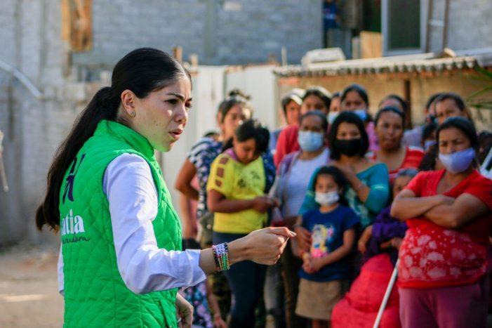 Katia Reséndiz presenta propuesta de apoyo a las mujeres en San Juan del Río
