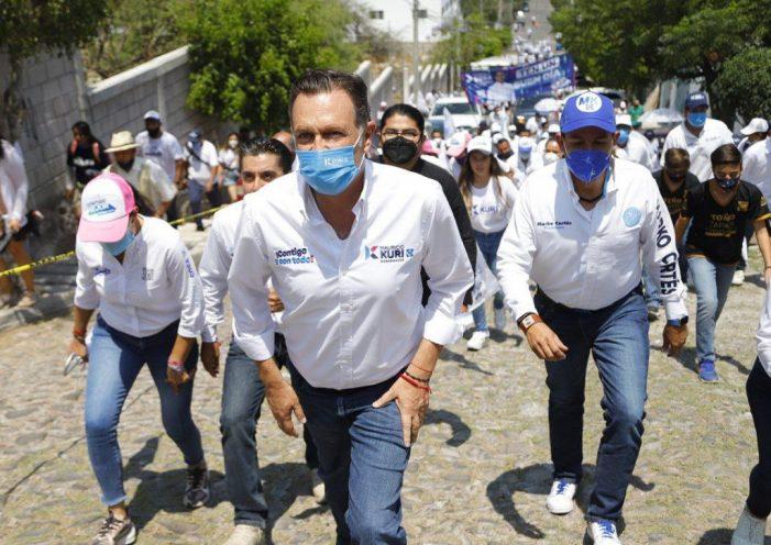 Kuri cierra campaña en Corregidora, su cuna política