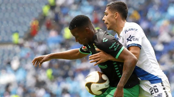 Santos pierde 0-1 contra Puebla pero se instala en la final del fútbol mexicano