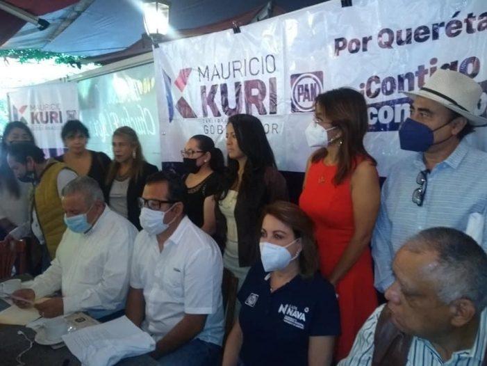Fundador de Morena en Querétaro se adhiere al proyecto de Kuri y Nava
