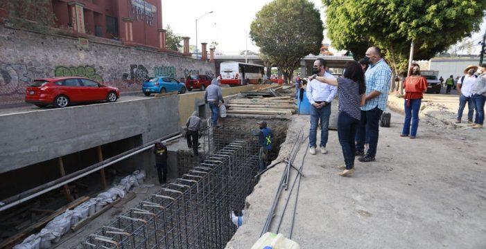 Continúan trabajos de prevención ante temporada de lluvias en Querétaro