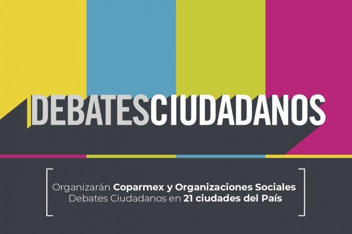 Coparmex declara listo el Debate Ciudadano en Querétaro
