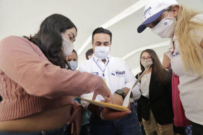 Luis Nava garantiza apoyo a la comunidad estudiantil de Querétaro
