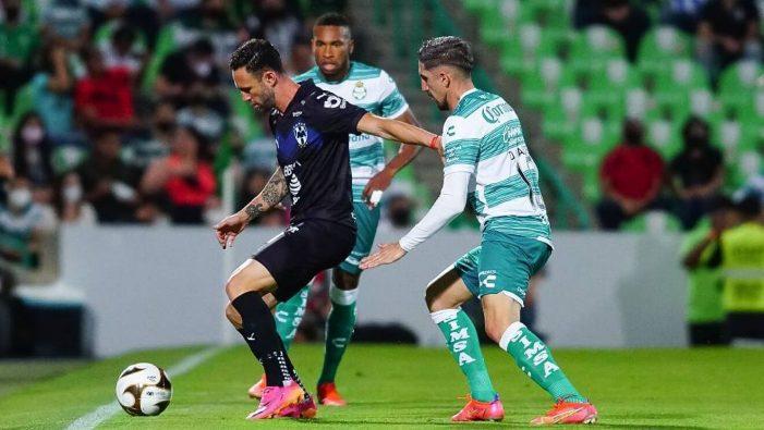 Santos Laguna toma ventaja 2-1 sobre Monterrey