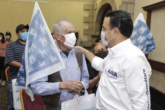 Asamblea de Barrios se suma al proyecto de Luis Nava