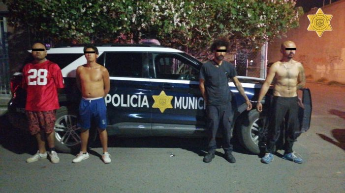 Desarticulan banda dedicada al robo a comercio en Querétaro