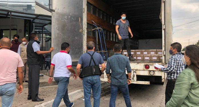 INE-Querétaro recibe lista nominal de electores definitiva