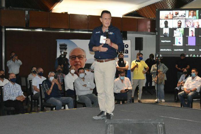 Con respeto a la ley, Querétaro será motor del país: Kuri González