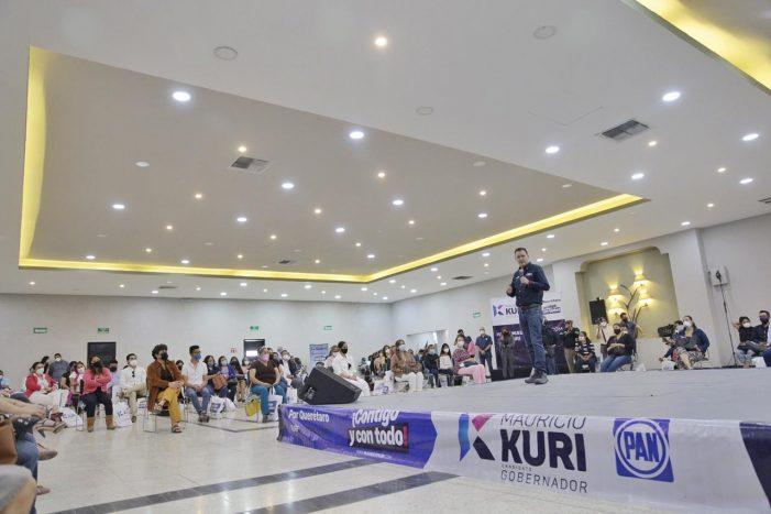 Kuri presenta estrategia para la protección infantil y adolescente