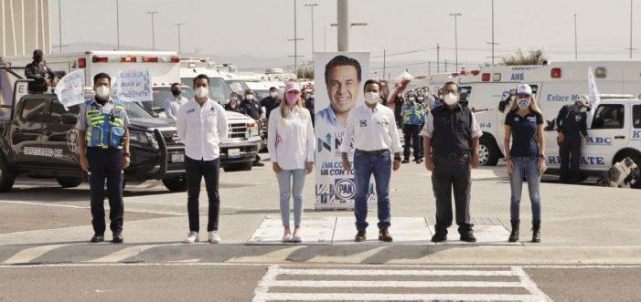 Luis Nava se reúne con cuerpos de emergencia de Querétaro