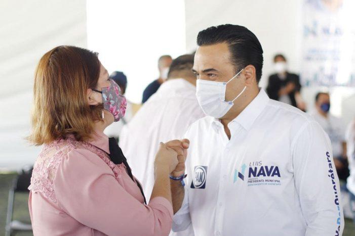 Luis Nava se compromete a mejorar la seguridad pública en Querétaro