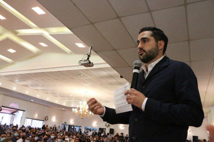 Agustín Dorantes agradece confianza de sanjaunenses