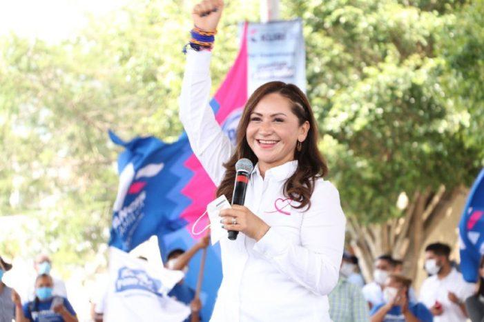 Sonia Rocha triunfa en elección por la Diputación Federal del Distrito I
