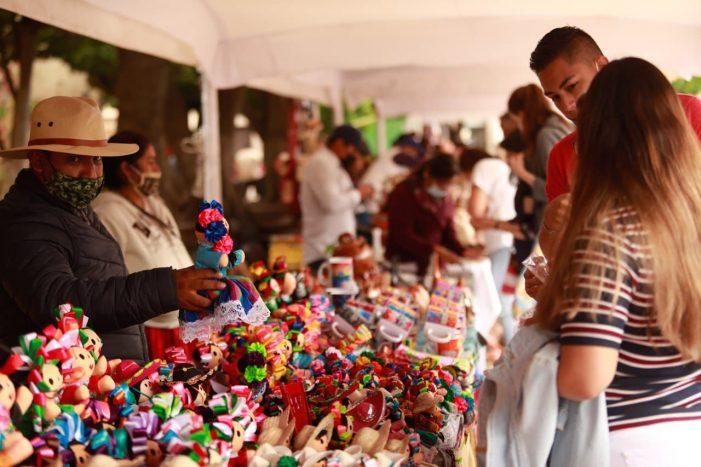 Concluye con éxito Feria Artesanal del Jardín Guerrero de Querétaro