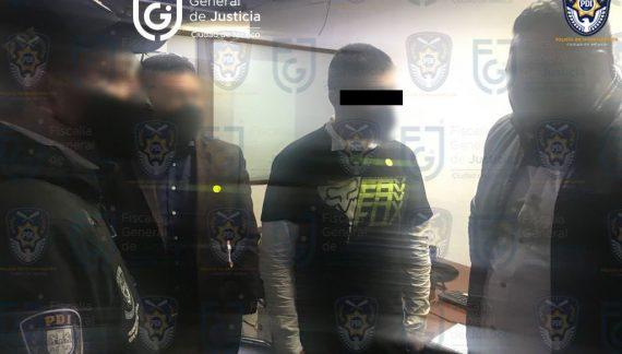 """Diego Armando """"N"""" es trasladado al Reclusorio Oriente"""