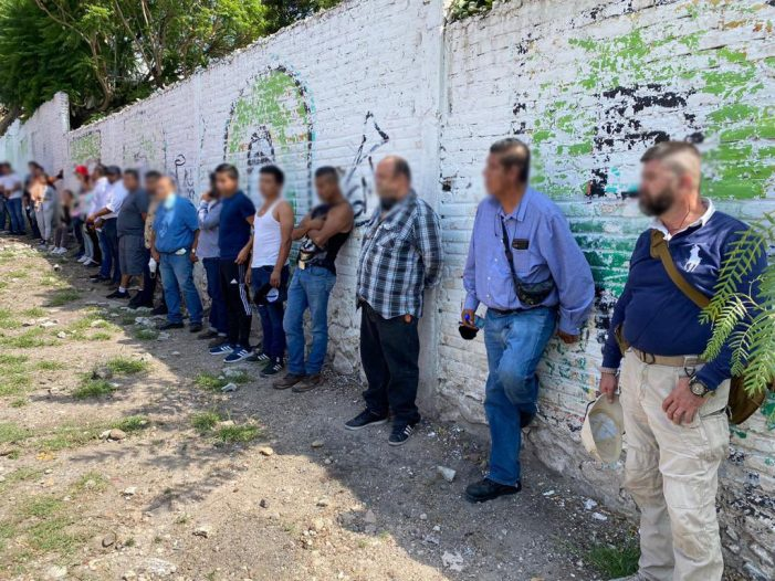 Detienen a 23 sujetos que intimidaban a votantes en Corregidora